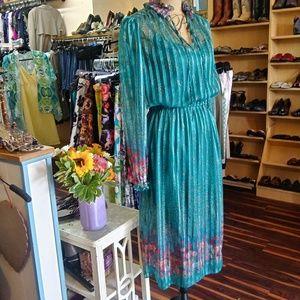 Vinatge 70's Sheer Dress